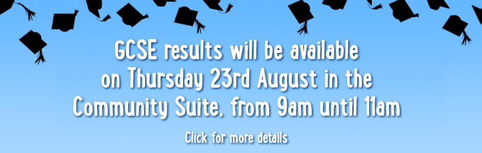 Results day info banner