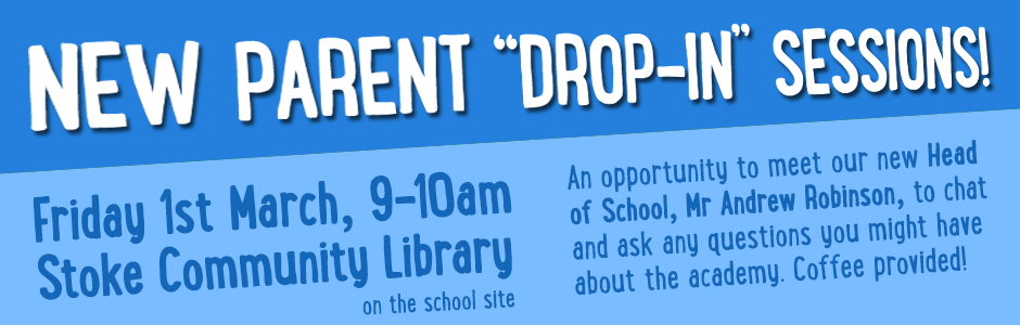 Parent drop-in banner